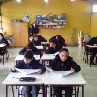 Ensayo SIMCE comunal en Palmilla,alumnos de 2° y 6° básico